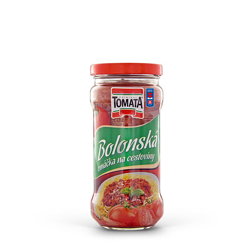 Bolognese saucewith soybean